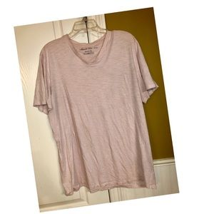 Light Pink Kenneth Cole V-Neck